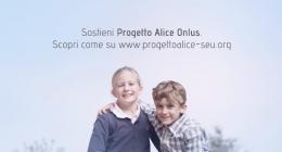 Dal 2012 siamo al fianco di Progetto Alice Onlus. Investiamo sulla ricerca e aiutiamo ad assistere i pazienti