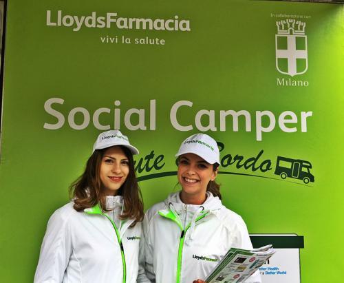 2017-Roadshow -inaugurazione Social Camper -Lloyd's Faramcia