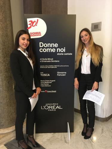 2018-Gruppo Mondadori-Donne Come Noi