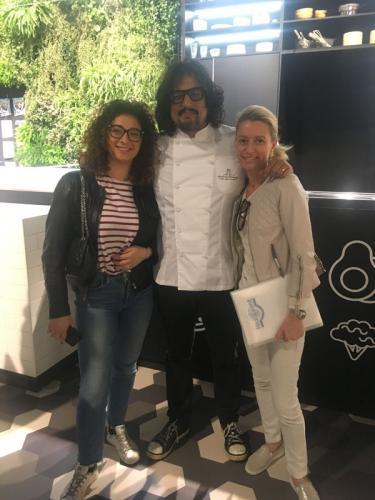 2018-Salone del Mobile-Carlotta, Cristina e Alessandro Borghese