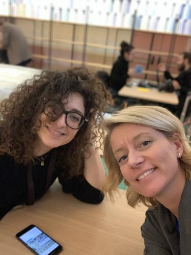 2019-Cristina&Carlotta on site